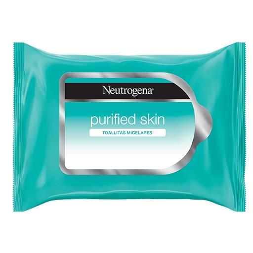 NEUTROGENA® Toallitas Desmaquillantes Purified Skin